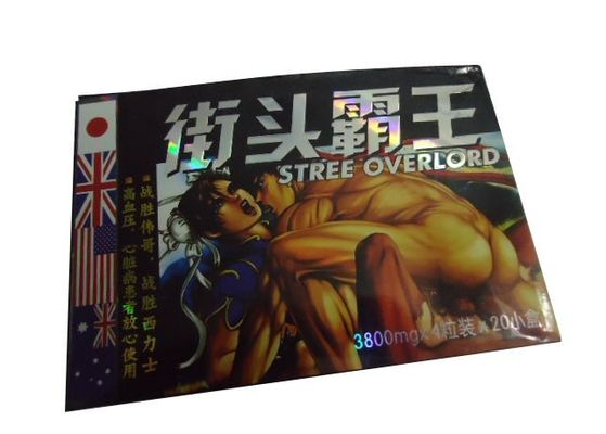 All Natural Street Overlord Men Sex Capsule for Penis Extender Herbal  Libido Enhancers