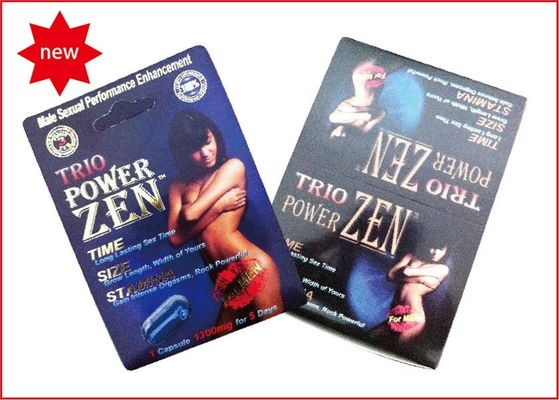 Trio Powerzen 1500mg Male Enhancement Stay Hard Pills Increase Sexual Confidence