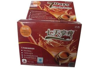 China 7 Days Herbal Natural Lose Weight Coffee With Garcinia Cambogia Fruit Vegetable Fiber supplier