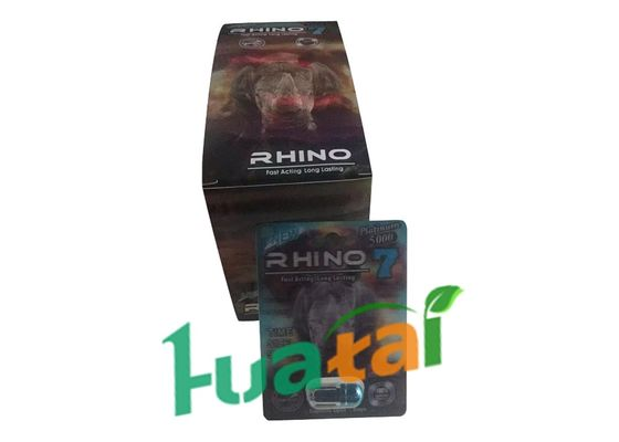 China Rhino7 5000 Herbal Male Enhancement For Sexual Intercourse Poor Sperm supplier