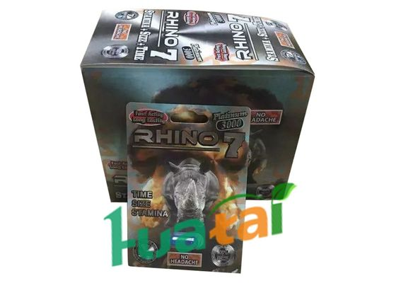 China RHINO7 Libido Stamina Herbal Sexual Enhancer Pills For Men Male Enhancement supplier