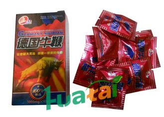 China Herbal Germany Niubian Male Enhancement Pills For Men Weak Sperm GMP & FDA supplier
