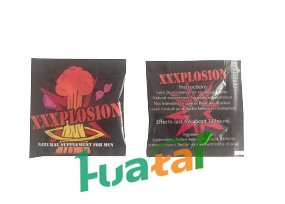 China XXXPLOSION Natural Supplement For Men , Improve Sexual Energy Control Ejaculation supplier