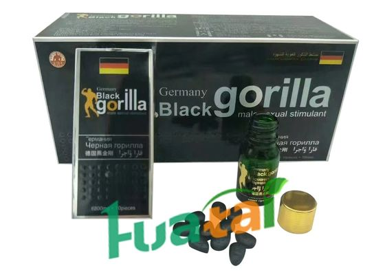 China Germany Black Gorilla Pills Male Sexual Stimulant Enhancement Product 10 Pills *6800mg supplier