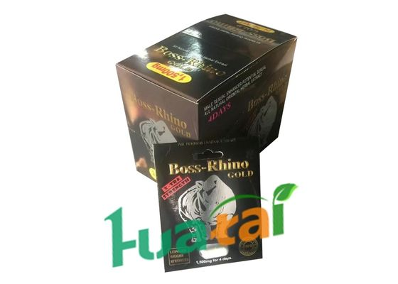 China Boss Rhino Gold Natural Male Enhancement Pills Sexual Stimulant Pills For Sex Penis Libido Erection supplier
