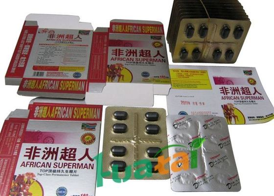 China African Superman Male Enhancement Pills , Natural Herbal Sex Pills supplier