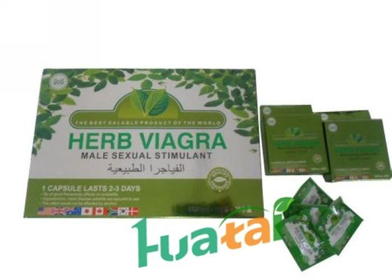 China Herb Viagra Health Care Herbal Male Enhancement 20 * 4caps / box Specification supplier