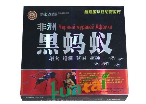 African Black Ant Sex Pills Male Enhancement with Unique Herbal Medicine Extracts