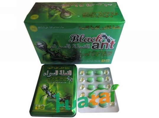 China Accelerate Blood Cell Grow Herbal Sex Pills , Iron Box Black Ant Male Enhancement supplier