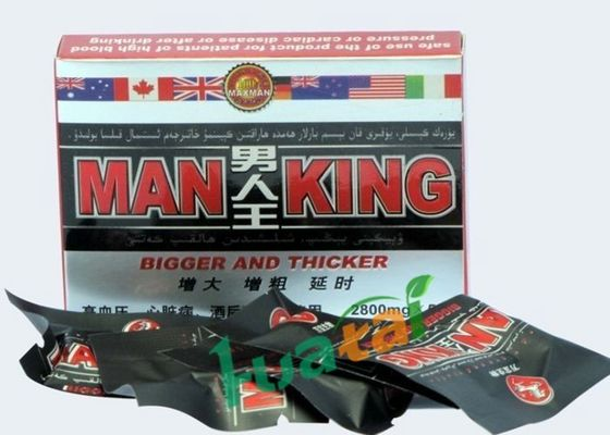 China Safe Sex Man King Male Enhancement With Concentrated Natural Botanic Herbal GMP & FDA supplier