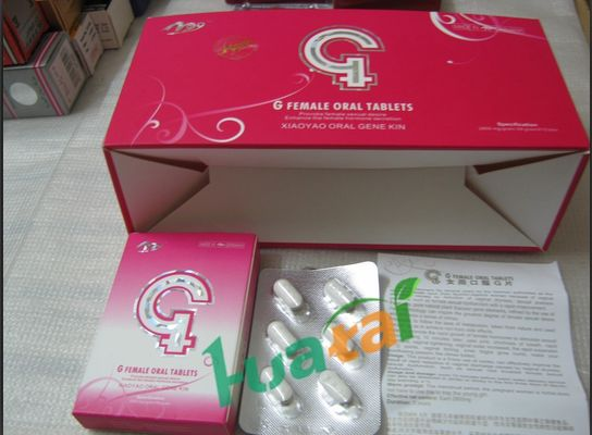 China G Female Oral Tablets Sex Libido Enhancer Female Enhancement Products supplier