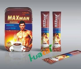 China Original Maxman Male Enhancement Coffee Herbal Food Supplement Healthy Drink supplier