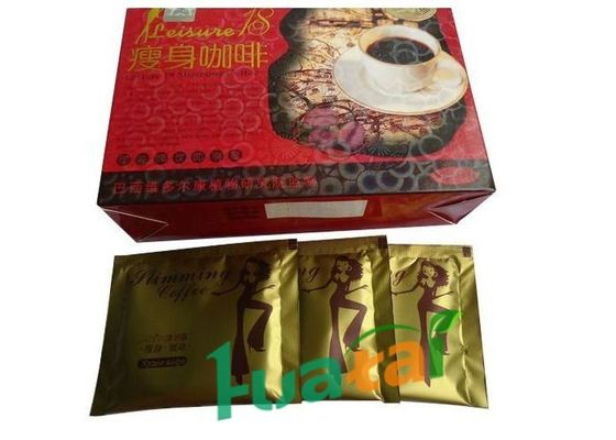 China Multi Vitamins Natural Lose Weight Coffee , Leisure 18 Slimming Coffee Gold supplier