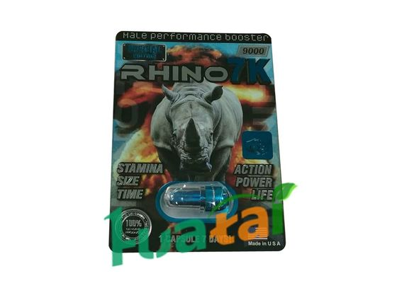 China Capsules 24 Packs Rhino 7K Platinum Herbal Sex Pills male performance enhancers supplier