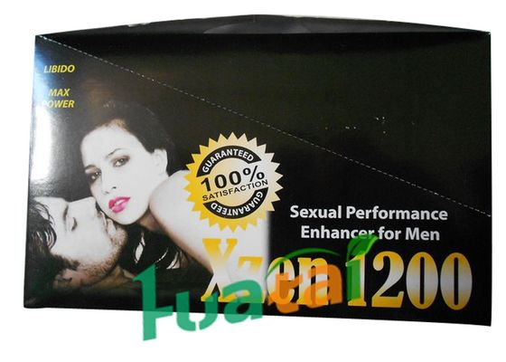 China XZEN 1200 Male Enhancement , Safe Men Enlargement Sex Performance Pills supplier