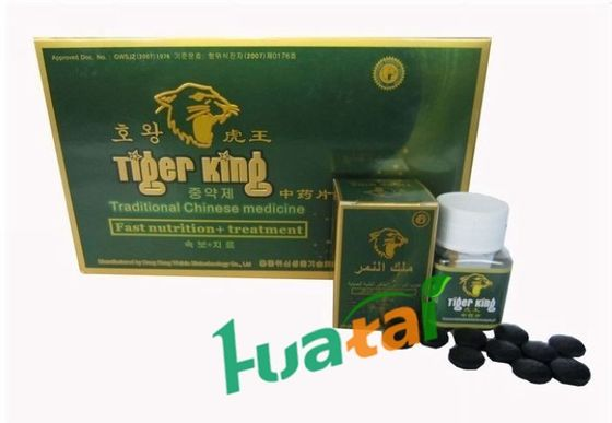 China Tiger King Herbal Sexual Enhancement Pills Lasts For 72 hours 10 capsules / box supplier