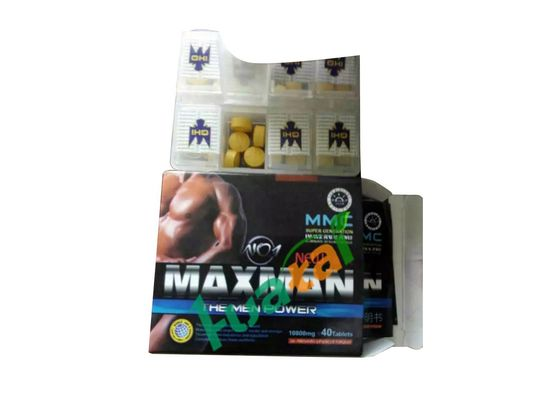 China Herbal Maxman NO1 Natural Male Enhancement Pills For Men Weak Sperm supplier