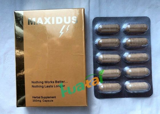 China Maxidus Herbale Sexual Pills Male Libido Sex Enhancer For Male Penis Enlarge supplier