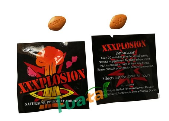 China PLOSION Natural Male Enhancement Pills , Herbal Formula Sexual Male Enhancement Capsules  supplier