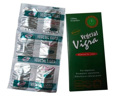 China No Hormone Vegetal Vigra Herbal Male Enhancement Sex Capsule for Men Weak Sperm distributor