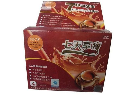 China 7 Days Herbal Natural Lose Weight Coffee With Garcinia Cambogia Fruit Vegetable Fiber distributor