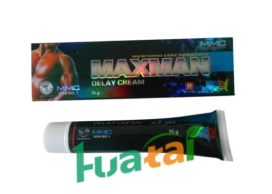 China Male Sex Enhancement Rolonging Delay Cream , Delay Enlargement Max Man Cream For Men distributor