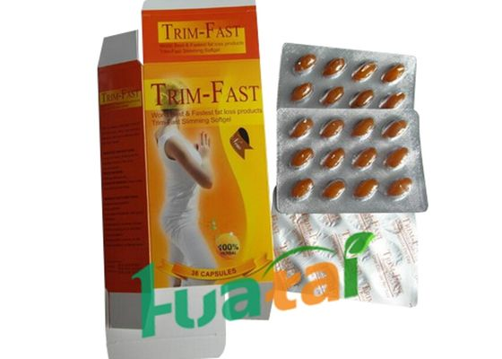 China TRIM Fast Herbal Weight Loss Pills , Slimming fast weight loss supplements For Women distributor
