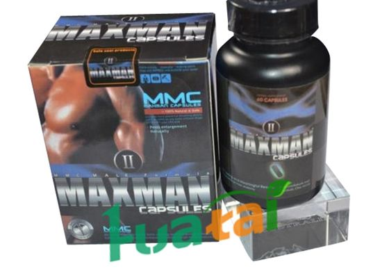 China Maxman Ii Capsules 60 , Natural Male Enhancement Sex Pills Nutritional Supplement distributor
