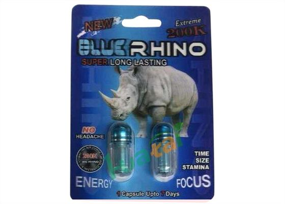 China Blue Rhino 200K Herbal Sex Pills Natural Male Sex Enhancer Medicine To Strengthen Erections factory