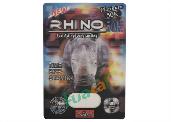 China Natural Herbal Rhino 50K Sex Performance Pills To Eliminate Sexual Fatigue factory