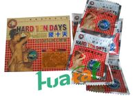 Hard Ten Days Herbal Male Enhancement Capsules For Adult Healthcare with 4500 mg X 6 Specification