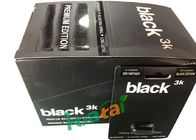 Black 3K Herbal Male Enhancement Pills Solving Impotence / Early Ejaculation